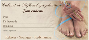 Martine Passeri Réflexologue La Rochelle | Bon cadeau